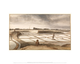 Salt Flats at Le Croisic  ca 1671–1673