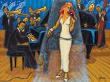 Jazz Orchestra in Blue