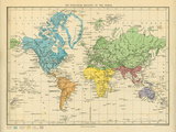 Map of the Zoological Regions of the World