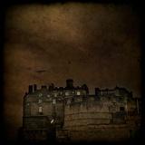Edinburgh Castle under a Stormy Sky