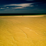 Shallow Water over Golden Sand