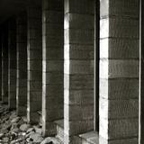 Concrete Blocks in a Building