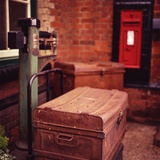 Luggage on Scales  North Norfolk Railway 2012