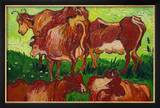 Les Vaches by Van Gogh