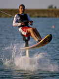 Water Skiier in Action