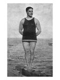 Santa Catalina Island  California - Everett Adargo  Native Diver Photo