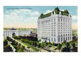 Winnipeg  Manitoba - Fort Garry Hotel  Union Depot Exterior