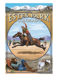 Estes Park  Colorado - Western Scenes