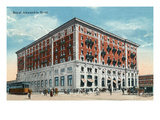 Winnipeg  Manitoba - Royal Alexandria Hotel Exterior