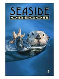 Seaside  Oregon - Sea Otter