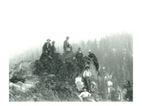 Mt Hood  Oregon - Overlook Rock at Treeline Photograph