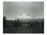 Mt Hood  Oregon - Horse Meadow and Camp Photograph