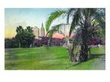 Miami  Florida - Bayfront Park Scene