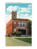 Palmyra  Pennsylvania - Citizens' Fire Station No 1 Exterior View