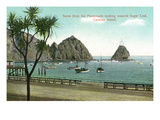Santa Catalina Island  California - Promenade View of Sugar Loaf