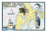 Kent Island  Maryland - Nautical Chart