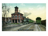 Elmira  New York - Union Railroad Station