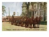 Davenport  Iowa - Fire Dept Aerial Rescue Truck