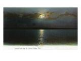 Florida - Sunset Scene on the St John's River