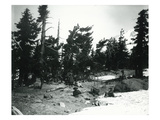 Mt Hood  Oregon - Climbers Resting at Snowline Photograph