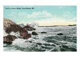 York Beach  Maine - Union Bluffs Surf Scene
