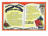 Gun Feud to the Last Man Storiette  Log Cabin and Guns