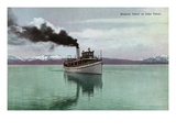Lake Tahoe  California - Steamer Tahoe Scene