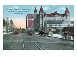 Louisville  Kentucky - Union Station  Louisville and Nashville Office Bldg from Broadway