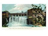 Rochester  New York - Upper Falls of the Genesee River