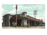 Lancaster  Pennsylvania - Pennsylvania Railroad Station View