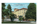 Pasadena  California - Exterior View of Hotel Pasadena