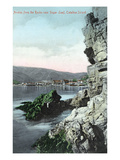 Santa Catalina Island  California - View of Avalon from the Rocks