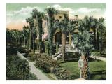 St Augustine  Florida - Villa Flora Exterior View