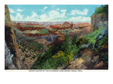 Grand Canyon Nat'l Park  Arizona - Bright Angel Trail View of Grand Canyon
