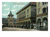 Venice  California - St Mark's Hotel Entrance View