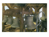 Chautauqua  New York - Chautauqua Institution  Pier House Belfry Bells