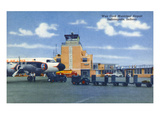 Indianapolis  Indiana - Weir Cook Municipal Airport Scene