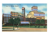 St Louis  Missouri - Exterior View of Checkerboard Square  Ralston Purina Company