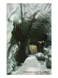 Estes Park  Colorado - Interior Crevice View in Hallett&#39;s Glacier