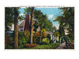 Saratoga Springs  New York - Chauncey Olcott Residence Inniscarra