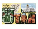 Greetings from Scipio  Utah