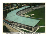 Atlanta  Georgia - Spiller Baseball Field Aerial View