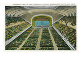 Cleveland  Ohio - Public Auditorium Interior View