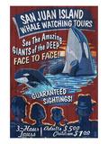 San Juan Island  Washington - Whale Watching