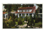 Saratoga Springs  New York - Inniscarra Front View