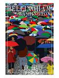 Bellingham  Washington - Umbrellas