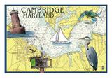 Cambridge  Maryland - Nautical Chart