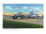 Grand Rapids  Michigan - Boarding Scene at Kent County Airport