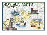 Montauk Point  New York - Nautical Chart