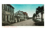 St Augustine  Florida - View of the Sea Wall